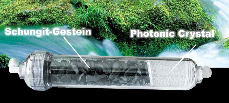Schungit und Photonic Crystal