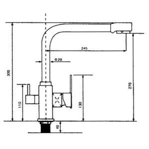 Wasserhahn WH 120